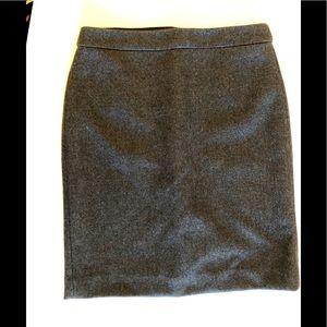 J.Crew Petite, Size 10, Wool Skirt, EUC